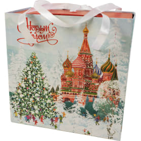 Коробка подарочная «Красная площадь», 18х18х10 см