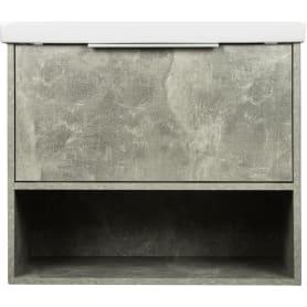 Тумба под раковину универсальная «Дана» 70 см, цвет серый цемент