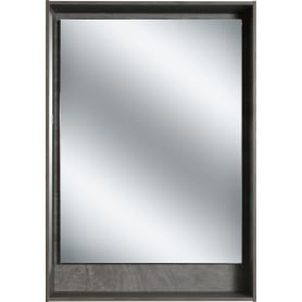 Зеркало с подсветкой «Мокка» 60 см, цвет дуб серый