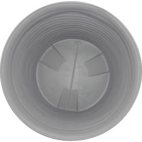 Кашпо цветочное «Дюна», D45., 50л. пластик, Серый / Серебристый
