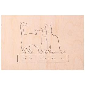 Заготовка для выпиливания лобзиком Дельта «Кошки»