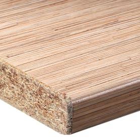 Столешница №134 120х3.8х60 см, ДСП, цвет тростник