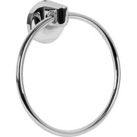 Полотенцедержатель «Elliot» кольцо 15 см цвет серебро