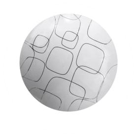 Светильник настенно-потолочный светодиодный Нойс, цвет белый