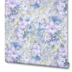 Обои на флизелиновой основе Victoria Stenova «Summer» 998703, 1.06х10 м, цвет синий