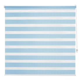 Штора рулонная день-ночь Inspire, 120х160 см, цвет голубой