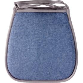 Галета для стула «Савана», 40x40 см, цвет синий