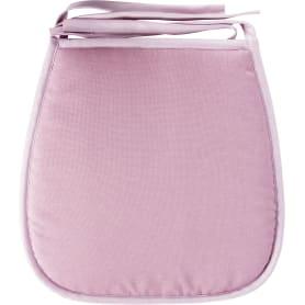 Галета для стула «Савана», 40x40 см, цвет розовый