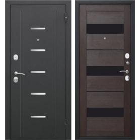Дверь входная металлическая Гарда Муар, 860 мм, правая, цвет тёмный кипарис