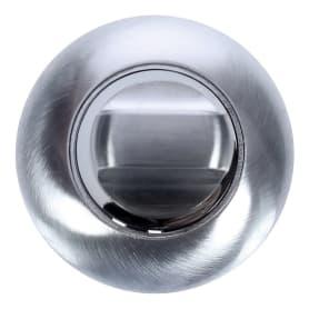 Фиксатор-вертушка для дверей EDS-WC 003, ЦАМ, цвет хром