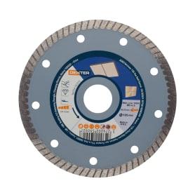 Диск алмазный по керамограниту Dexter, 125x22.2 мм