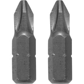 Биты Dexter, PH2, 25 мм, 2 шт.