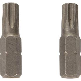 Биты Dexter, Torx, 25 мм, 2 шт.