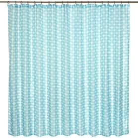 Тюль на ленте «Геометрия», 250х180 см, цвет бирюзовый