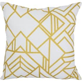 Подушка декоративная «Ромбы, золото», 40х40 см