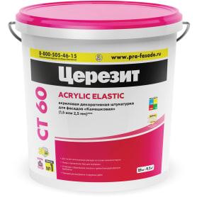 Штукатурка полимерная декоративная Ceresit CT 60 25 кг