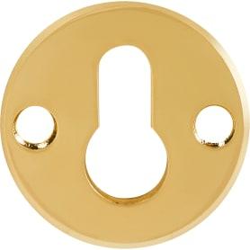 Броненакладка Fuaro DEF 5513 PB, сталь, цвет латунь