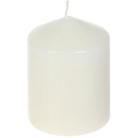 Свеча-столбик 6/8 см цвет бежевый