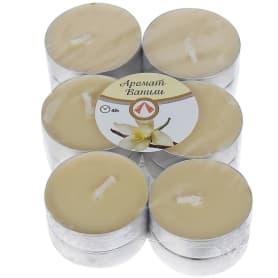 Набор свечей чайных ароматизированных «Ваниль», 12 шт.