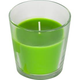 Свеча ароматизированная в стакане «Зелёное яблоко»
