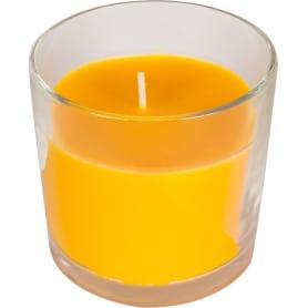 Свеча ароматизированная в стакане «Персик»