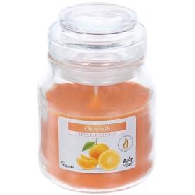 Свеча ароматизированная в банке «Апельсин»