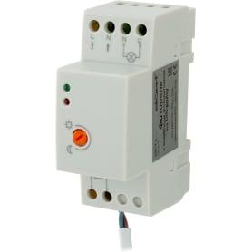 Фотореле на DIN-рейку с выносным датчиком, 3680 Вт, цвет белый, IP65