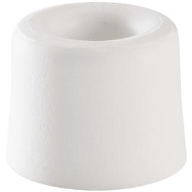 Стопор дверной, 2.5х3 см, цвет белый матовый