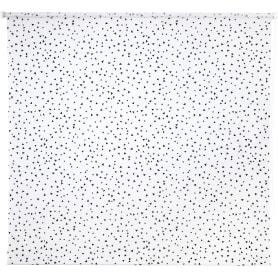 Штора рулонная «Фантазия», 140х175 см, цвет чёрно-белый