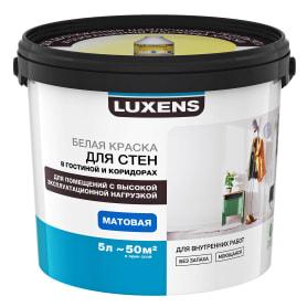 Краска для стен и потолков Luxens база A 5 л