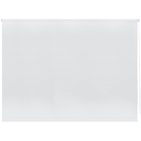 Штора рулонная «Полосы», 100х160 см, цвет белый