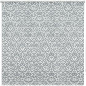 Штора рулонная «Вензель», 80х160 см, цвет серый