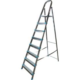 Стремянка Zalger, 8 ступеней, сталь