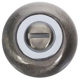 Фиксатор-вертушка для дверей BKQ, ЦАМ, цвет бронза