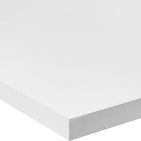 Деталь мебельная 2000х600х16 мм ЛДСП, цвет белый, кромка с длинных сторон