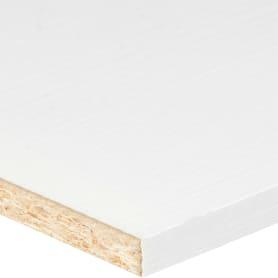 Деталь мебельная Премиум 2700х300х16 мм ЛДСП, цвет белый, кромка с длинных сторон