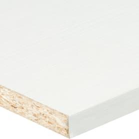 Деталь мебельная Премиум 2700х600х16 мм ЛДСП, цвет белый, кромка с длинных сторон