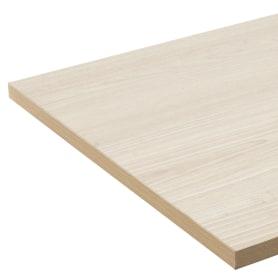 Деталь мебельная 2700х400х16 мм ЛДСП, цвет акация светлая, кромка с длинных сторон