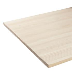Деталь мебельная 2700х600х16 мм ЛДСП, цвет акация светлая, кромка с длинных сторон
