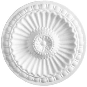 Розетка потолочная полистирол белая Формат 280А 28 см