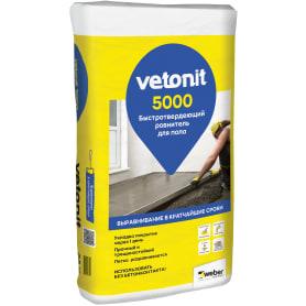 Ровнитель для пола Weber Vetonit 5000 25 кг