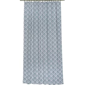 Штора на ленте «Карлин Сканди», 200х260 см, цвет серый