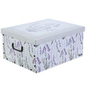 Короб с ручками «Цветы», 39х50х24, картон