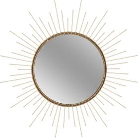 Зеркало в раме «Золотые лучи», 50 см
