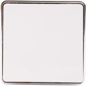 Выключатель проходной Gallant, 1 клавиша, цвет белый