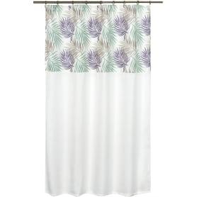 Штора на ленте «Пальма», 135х180 см, цвет сиреневый