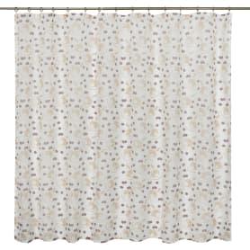 Тюль на ленте «Кофейные зёрна», 250х180 см, цвет кофейный