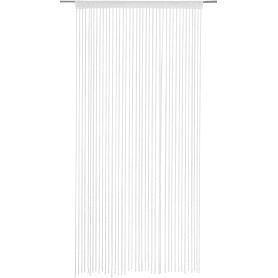 Штора нитяная Inspire «Макарони», 150х280 см, цвет белый
