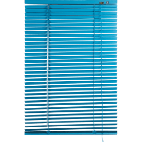 Жалюзи 60х155 см, алюминий, цвет голубой
