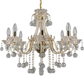 Люстра подвесная Eurosvet Ariella 10044/8, 8 ламп, 24 м², цвет золото